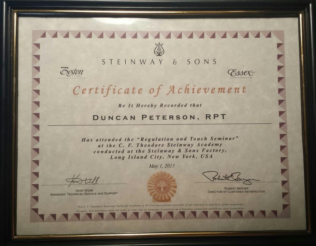 Steinway Certificate 5-1-15